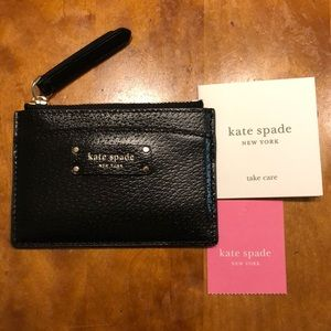 Kate Spade card case/wallet